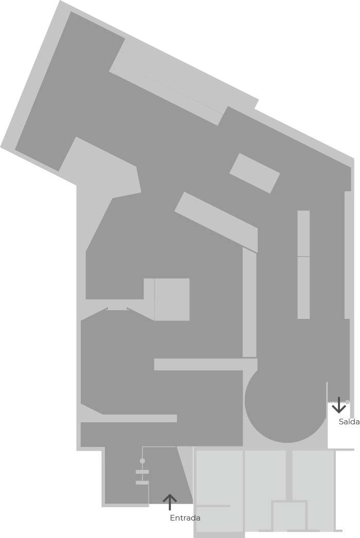 Museu da 1a Demarcação Mapa Exposição permanente